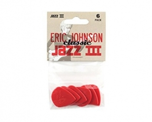 Dunlop Nylon Eric Johnson Jazz III 6 Pack